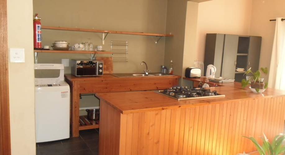 Shared Kitchen in Self-Catering unit with 3 en-suite bedrooms